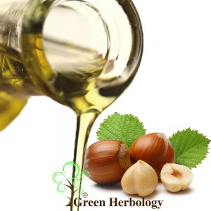 Pure Hazelnut Oil regenerate skin cells, anti-aging, heals split ends