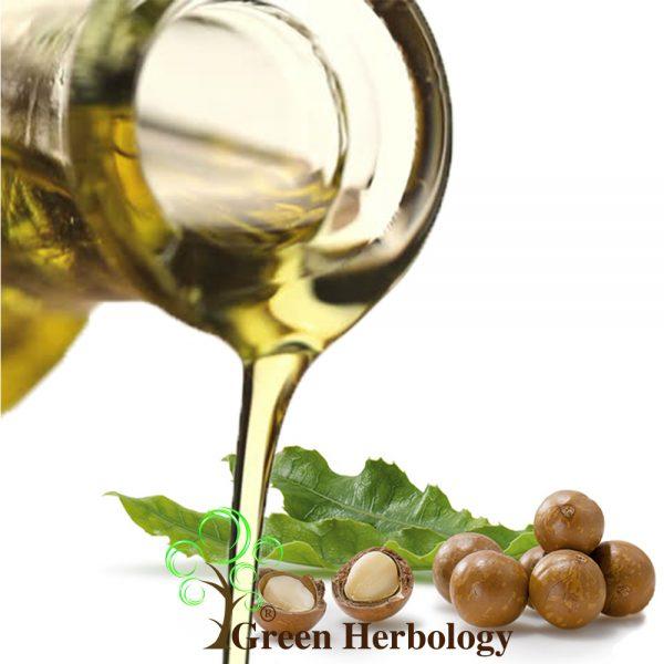 Pure Macadamia oil for UV protection, brightening skin, moisturizes skin
