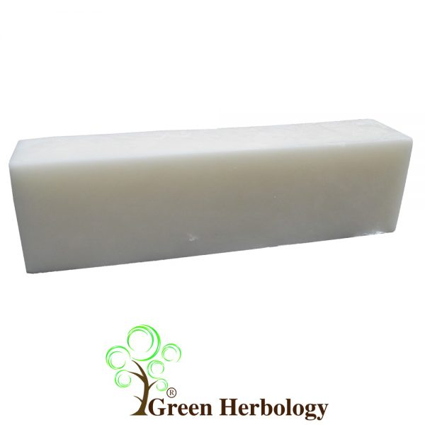 opaque glycerin soap base added glycerine for moisturize
