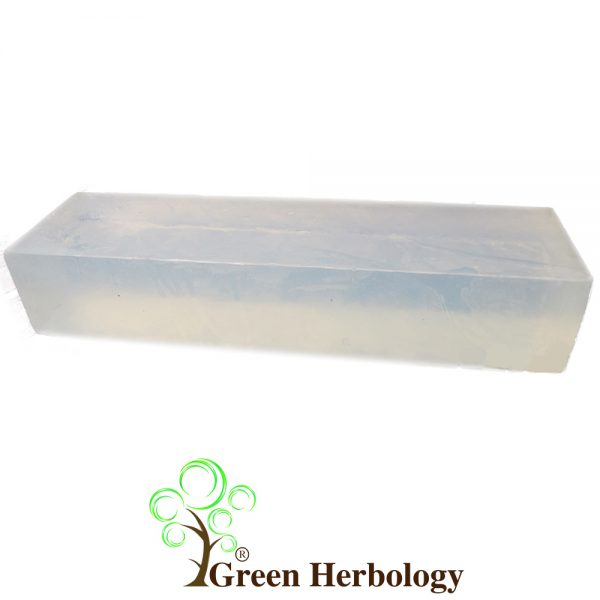 transparent glycerin soap base with moisturizing effect