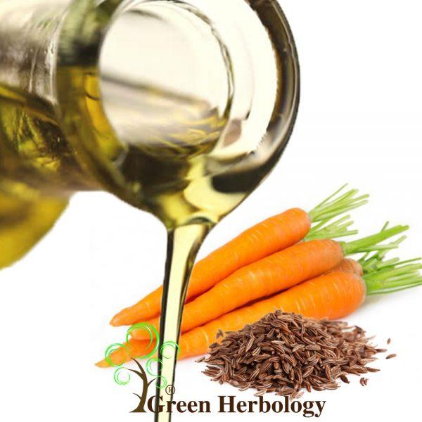 Pure Carrot Seed Oil for Detoxifies skin, heals sunburn,strengthens hair