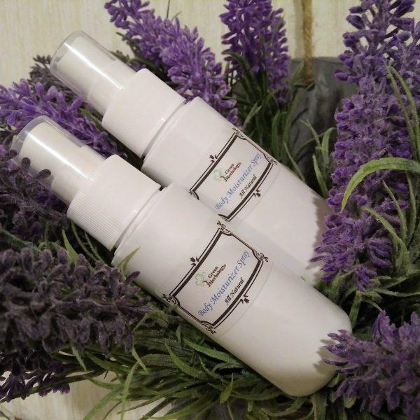 Body Moisturizer Spray - Natural