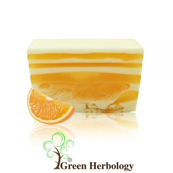 Orange Essential Oil Handmade Soap