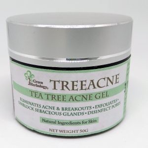 Green Herbology TreeAcne Natural Acne Gel