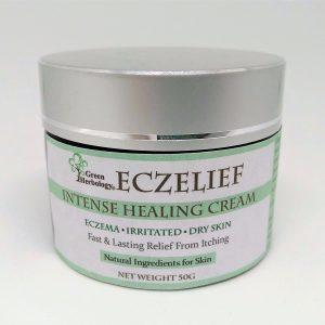 eczema intense healing cream, moisturize cream