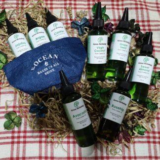 green herbology carrier oil bundle sales